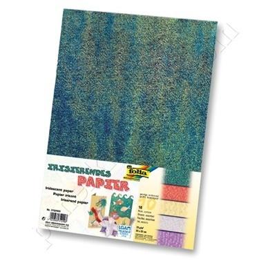 Folia Yanar Döner Elişi Kağıdı Seçilmiş Renkler Renkli
